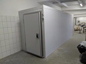 1. Холодильна камера 2,300 х 2,300 х 2,200